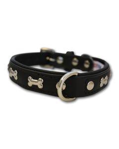 angel-rotterdam-bones-dog-collar-midnight-black