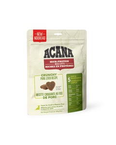 Acana High-Protein Biscuits for Small to Medium Dogs - Crunchy Pork Liver Recipe