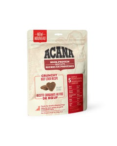 Acana High-Protein Biscuits for Small to Medium Dogs - Crunchy Beef Liver Recipe
