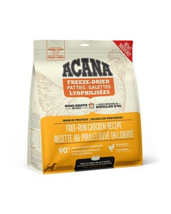Acana Bone Broth Infused Freeze-Dried Patties for Dogs - Free-Run Chicken Recipe