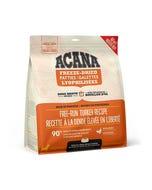 Acana Bone Broth Infused Freeze-Dried Patties for Dogs - Free-Run Turkey Recipe