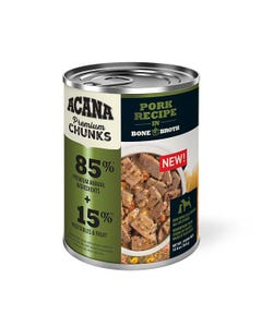 Acana Premium Chunks Wet Dog Food - Pork Recipe in Bone Broth