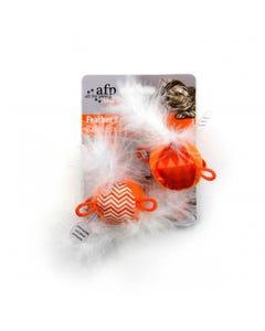 AFP Mod Cat Feather Balls - Orange