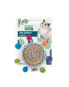 AFP Whisker Fiesta Cat Toys - Color Sombrero