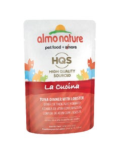 Almo Nature La Cucina Cat Food Pouch - Tuna Dinner with Lobster in Jelly