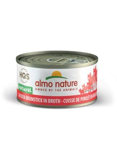 Almo Nature Chicken Drumstick Canned Cat Food