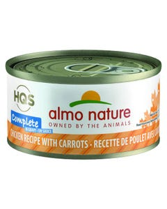 Almo Nature Complete - Chicken Recipe with Carrots in Gravy Canned Cat Food