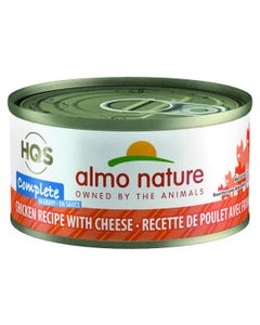 Almo Nature Complete - Chicken Recipe with Cheese in Gravy Canned Cat Food