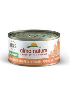 Almo Nature Chicken & Pumpkin Canned Cat Food