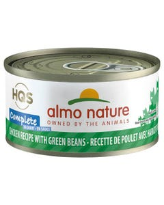 Almo Nature Complete - Chicken Recipe with Green Beans in Gravy Canned Cat Food