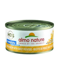Almo Nature Complete Chicken with Sweet Potatoes in Gravy