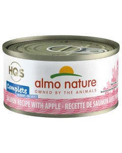 Almo Nature Complete - Salmon Recipe with Apples in Gravy Canned Cat Food