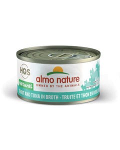Almo Nature Trout & Tuna Canned Cat Food