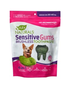 Ark Naturals Small Sensitive Gums Brushless Toothpaste for Dogs 20 to 40 lbs