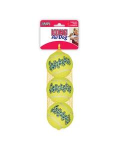 KONG AirDog SqueakAir Tennis Ball - 3 Pack