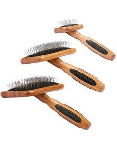 Bass Brushes Pet Groomer Earth-Friendly Bamboo - Slicker Brush