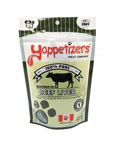 Yappetizers Beef Liver Dog Treats