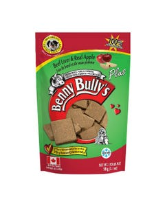 Benny Bully's Liver Plus Dog Treats - Beef Liver Plus Apples