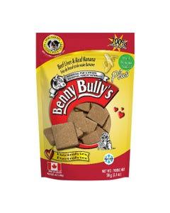 Benny Bully's Liver Plus Dog Treats - Beef Liver Plus Banana