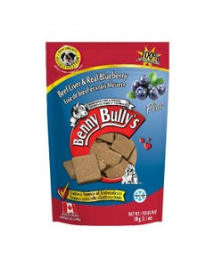 Benny Bully's Liver Plus Dog Treats - Beef Liver Plus Blueberry