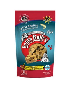Benny Bully's Liver Plus Cat Treats - Beef Liver Plus Fish
