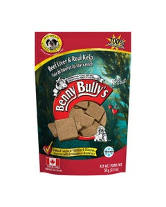 Benny Bully's Liver Plus Dog Treats - Beef Liver Plus Kelp