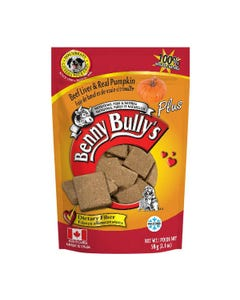 Benny Bully's Liver Plus Dog Treats - Beef Liver Plus Pumpkin
