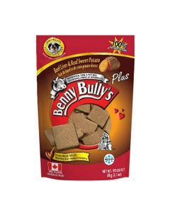 Benny Bully's Liver Plus Dog Treats - Beef Liver Plus Sweet Potato