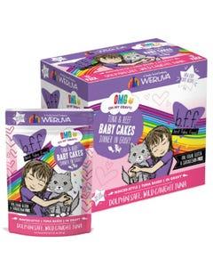 B.F.F. Cat Food Pouch - Tuna & Beef Baby Cakes Recipe