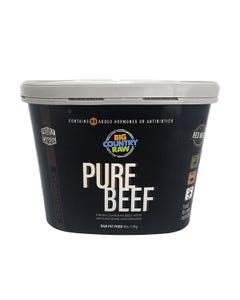 Big Country Raw Pure Beef Tub for Dogs and Cats