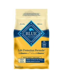BLUE Chicken & Brown Rice Small Breed Healthy Weight Dog Food