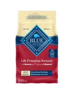 BLUE Fish & Brown Rice Adult Dog Food