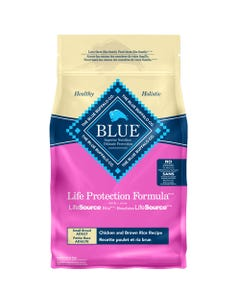 BLUE Chicken & Brown Rice Small Breed Dog Food