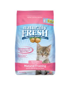 Naturally Fresh Natural Training Quick-Clumping Cat Litter for Kittens