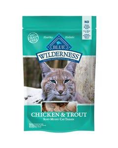 BLUE Wilderness Chicken & Trout Cat Treats