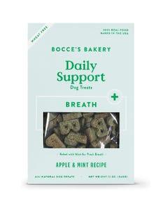 Bocce's Bakery Daily Support Breath Dog Treats - Apple & Mint Recipe
