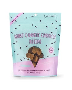 Bocce's Bakery Mint Cookie Crunch Recipe Soft & Chewy Dog Treats