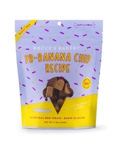 Bocce's Bakery PB-Banana Chip Recipe Soft & Chewy Dog Treats