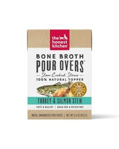 The Honest Kitchen Bone Broth Pour Overs - Turkey & Salmon Stew
