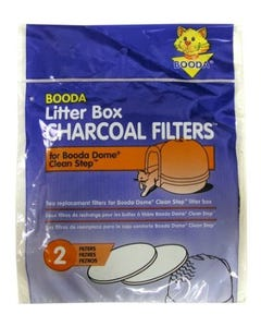 Booda Dome Clean Step Charcoal Air Filters 2-Pack