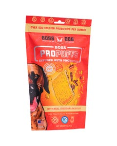 Boss Dog Boss Propuffs for Dogs - Cheddar and Bacon Flavor