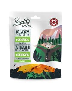 Buddy Jacks Gently Air-Dried Plant Based Dog Treats - Papaya