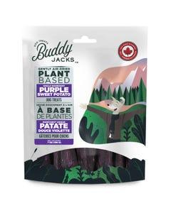 Buddy Jacks Gently Air-Dried Plant Based Dog Treats - Purple Sweet Potato
