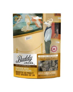 Buddy Jacks Soft and Chewy Dog Treats - Chicken with Flax Seed