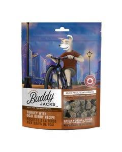 Buddy Jacks Soft and Chewy Dog Treats - Turkey with Goji Berry