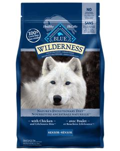 BLUE Wilderness Senior Chicken Dog Food