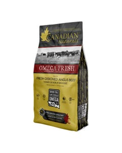 Canadian Naturals Omega Fresh with Fresh Deboned Angus Beef Recipe