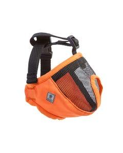 Canine Equipment Short Snout Muzzle - Orange