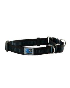 Canine Equipment Webbing Martingale Collar - Black