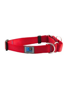 Canine Equipment Webbing Martingale Collar - Red